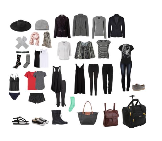 lucas packlist