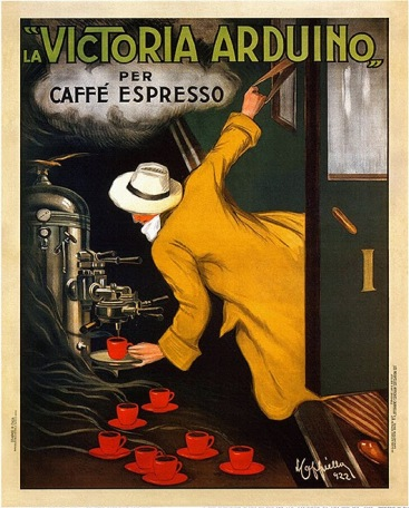 Image result for vintage italian coffee posters