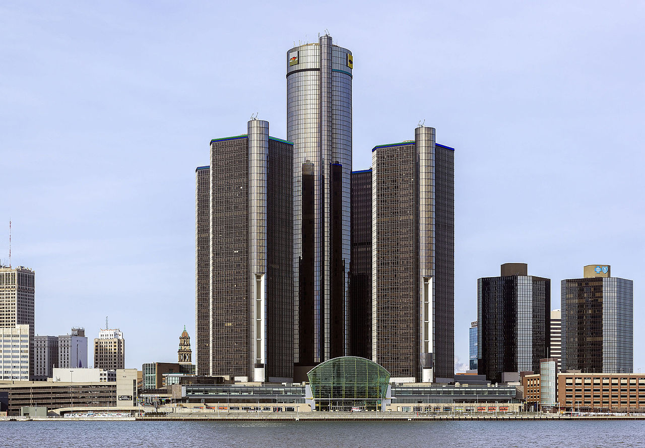 Renaissance_Center,_Crisco 1492 [CC BY-SA (httpscreativecommons.orglicensesby-sa4.0)]